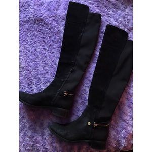 Ivanka Trump Odiner suede riding boots